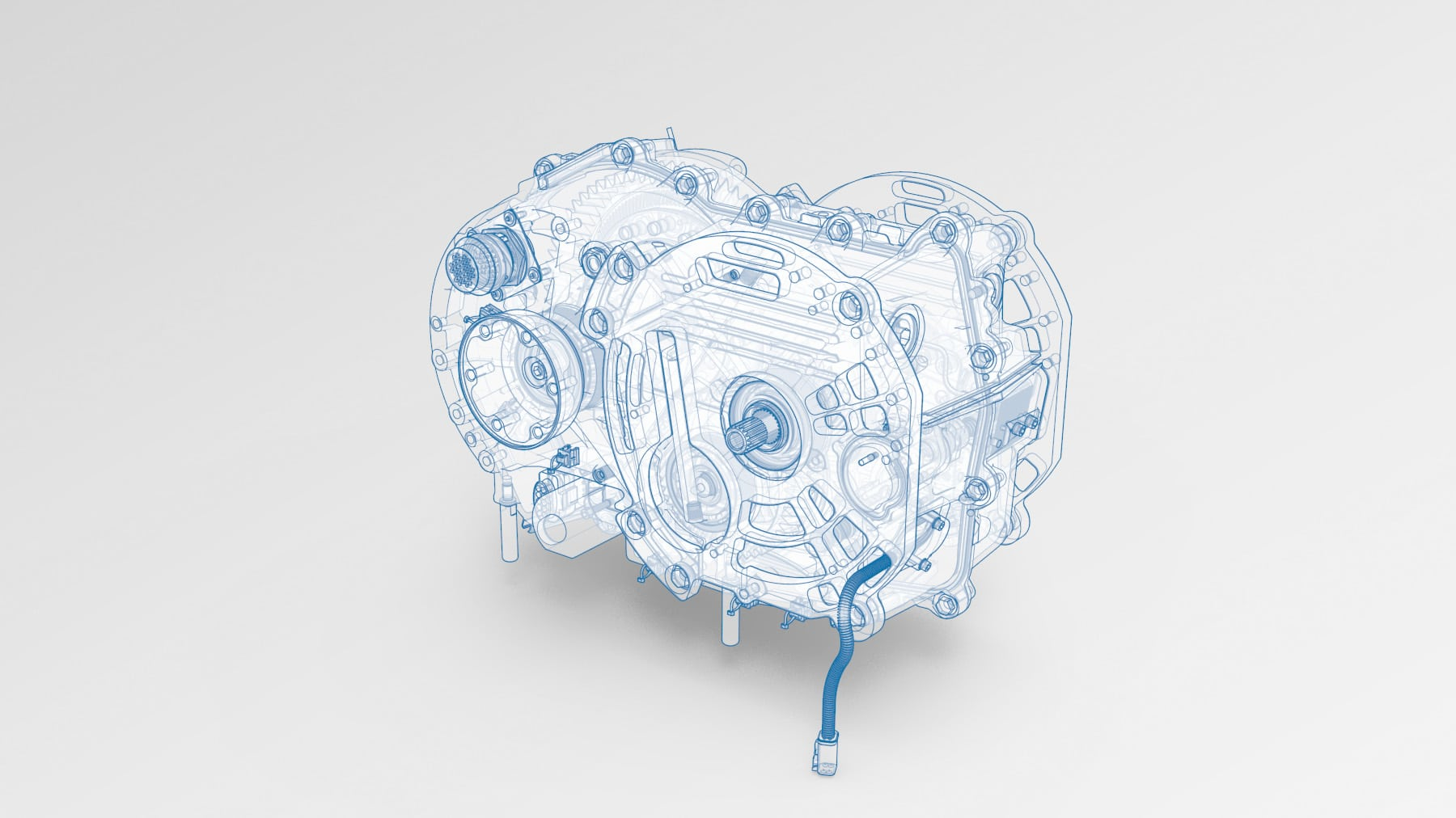 2 speed amt that is used in an electric vehicle transmission