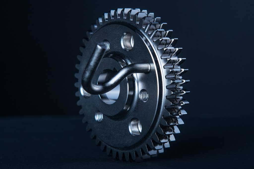 Engine gear created by VCST