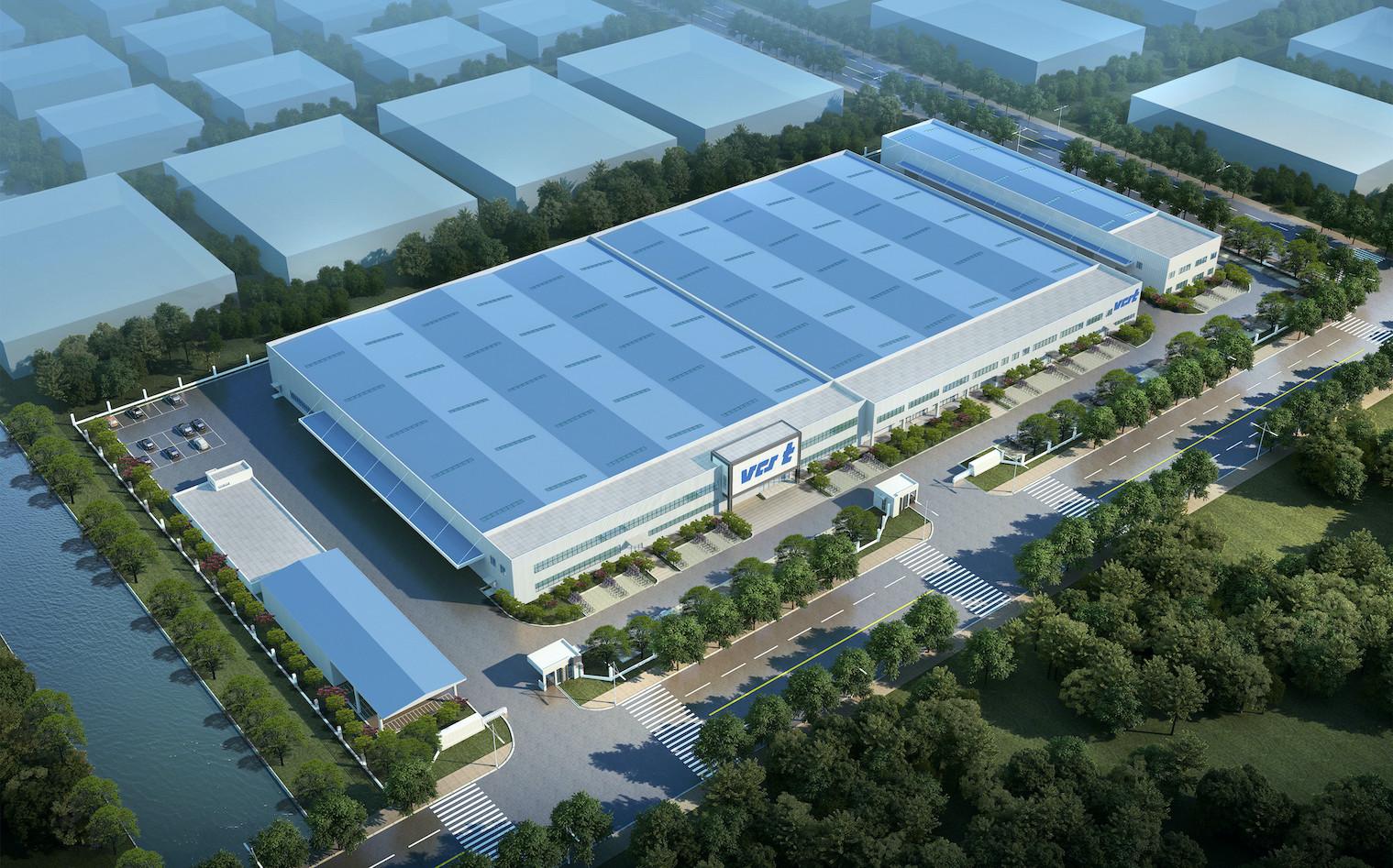 3d construction new halls VCST China