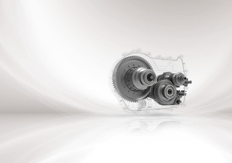 Gears used in EV transmission