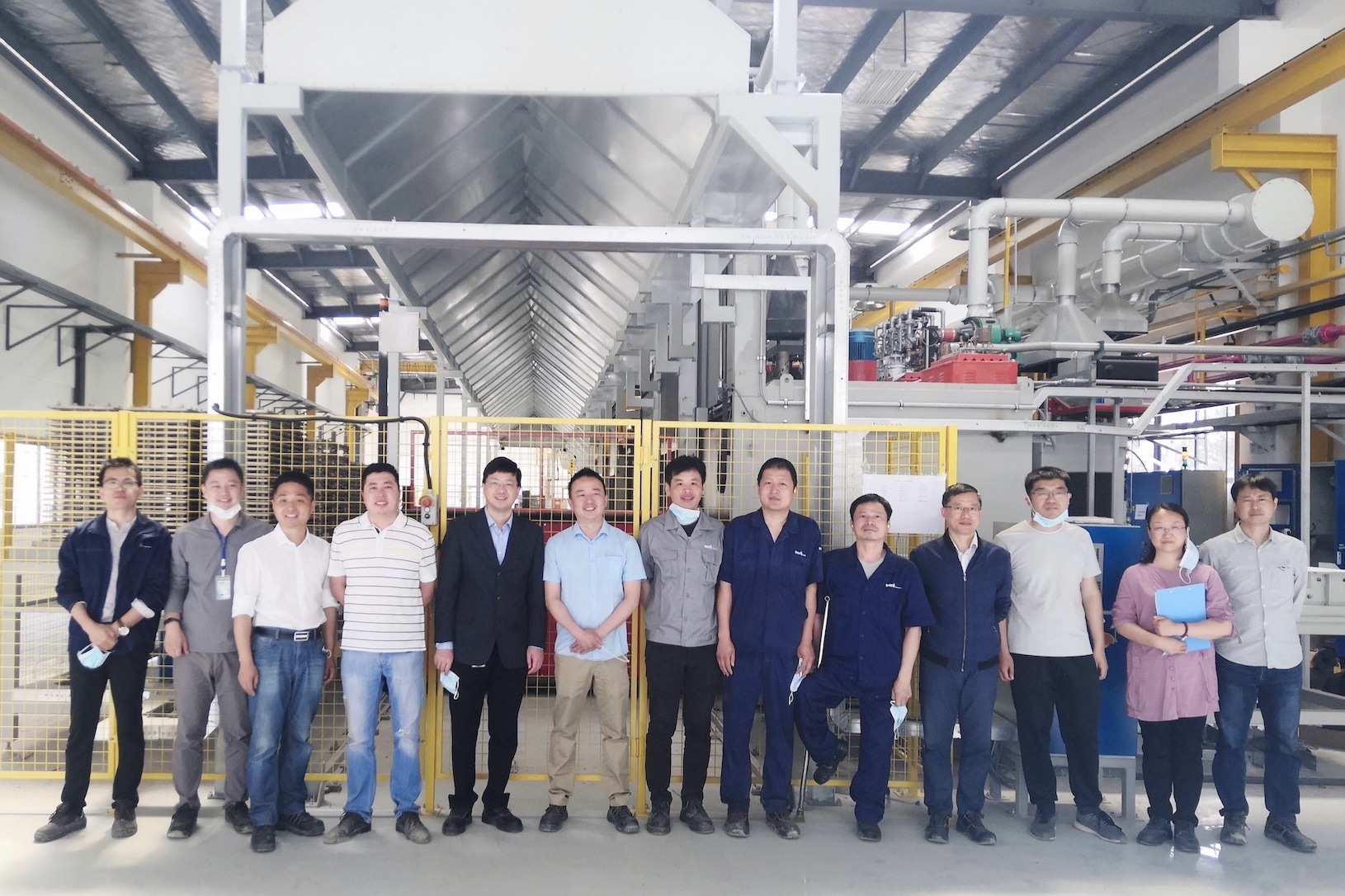 The Changzhou team for heat treatment