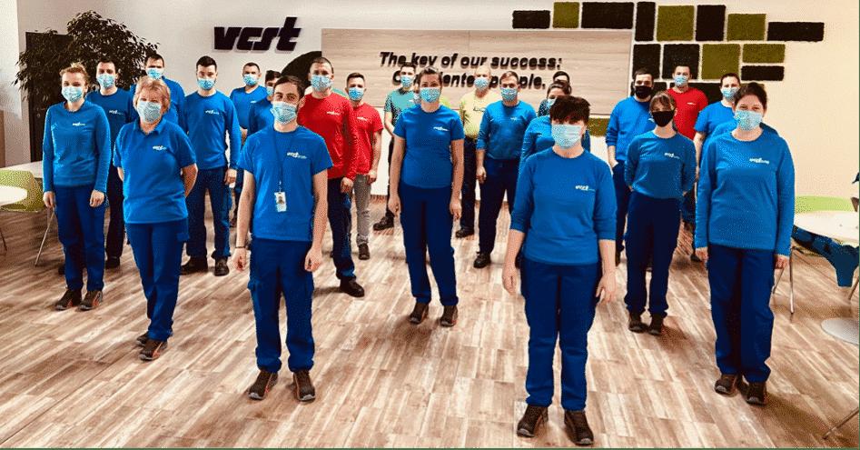 VCST team in full uniform
