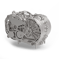 Gearbox 2 speed AMT for electric vehicles build by VCST